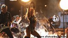 USA Auftritt Lady Gaga und Metallica bei den Grammy Awards