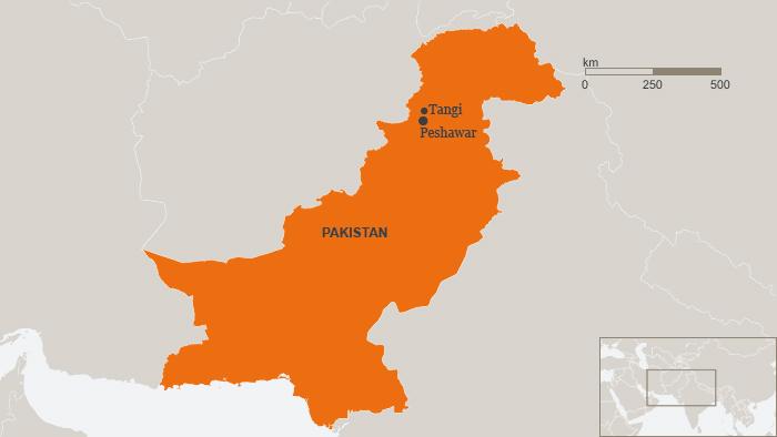 Karte Pakistan Tangi