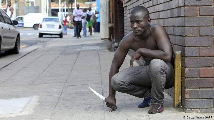 Südafrika Xenophobie Rassismus Unruhen (Getty Images/AFP)