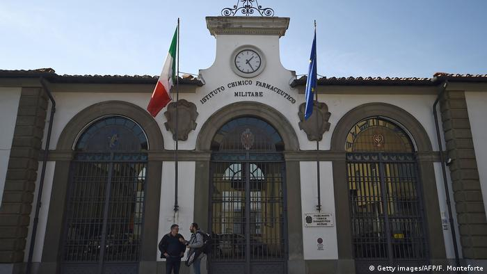 Italy military building (Getty images/AFP/F. Monteforte)