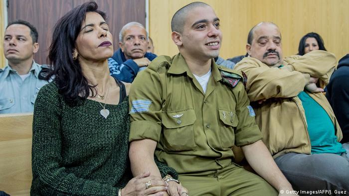 Israel Elor Azaria vor Gericht