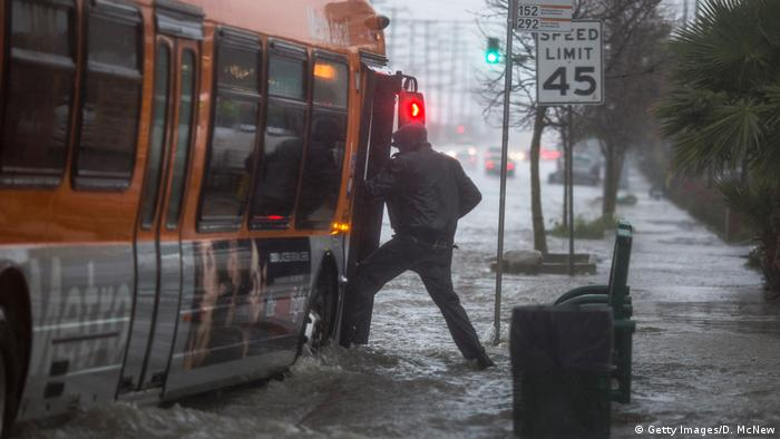 USA Extreme rainfalls in California (Getty Images/D. McNew)