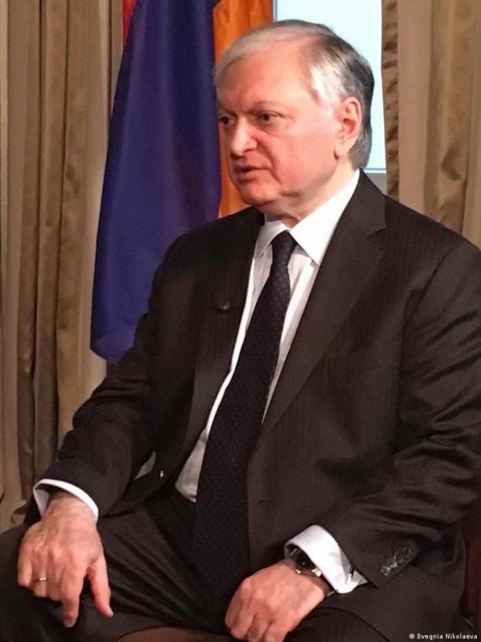 Глава МИД Армении: Карабахская проблема – не территориальный спор, это вопрос прав человека