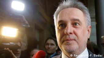 Олигарх Дмитрий Фирташ дает интервью