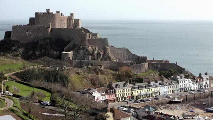 Kanalinsel jersey Mont Orgueil Castle