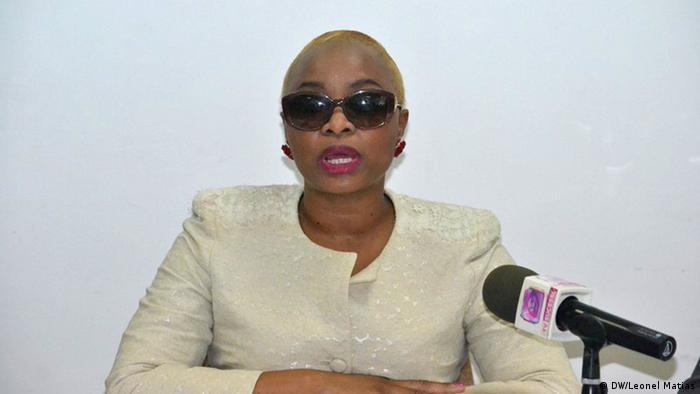 Josina Machel, queixosa no caso de violência doméstica