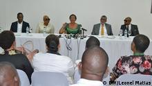 Mosambik Tagung zu häuslicher Gewalt Josina Machel und Graça Machel