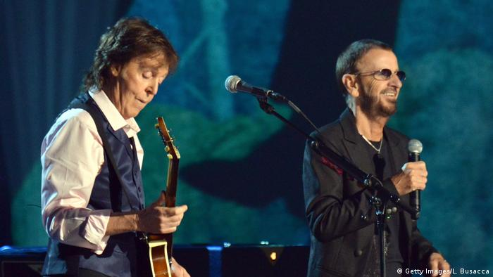 Ringo Starr und Paul McCartney (Getty Images/L. Busacca)