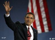 Obama bei der Siegesrede: