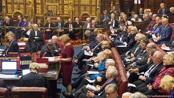 London Brexit-Debatte im House of Lords (picture-alliance/empics)