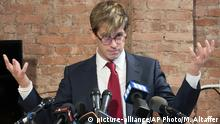USA Milo Yiannopoulos in New York (picture-alliance/AP Photo/M. Altaffer)
