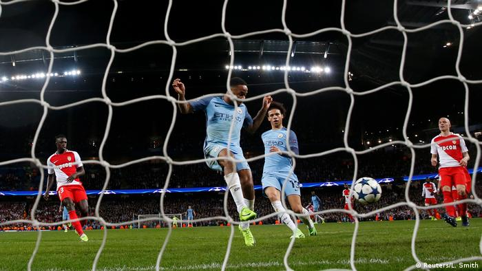 Großbritannien Fußball Champions League - Manchester City vs. AS Monaco (Reuters/L. Smith)
