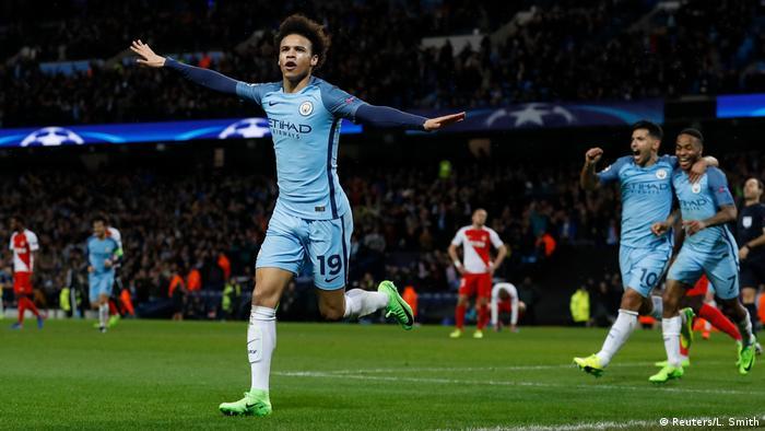 Großbritannien Fußball Champions League - Manchester City vs. AS Monaco (Reuters/L. Smith)