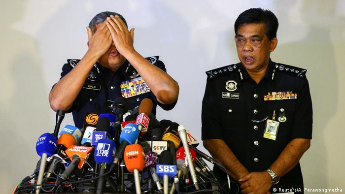 Malaysia Presssekonferenz Mordfall Kim Jong Nam (Reuters/A. Perawongmetha)