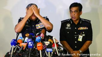 Malaysia Presssekonferenz Mordfall Kim Jong Nam