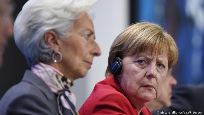 Deutschland Merkel und Lagarde (picture-alliance/dpa/R. Jensen)