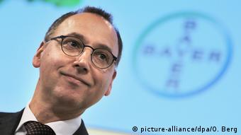 Presidente da Bayer Werner Baumann: poucos motivos para sorrir?