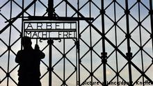 Deutschland Gestohlenes Lagertor kommt zurück nach Dachau