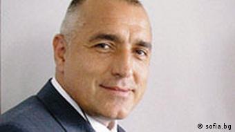 Bulgarien Bürgermeister von Sofia Boiko Borissov