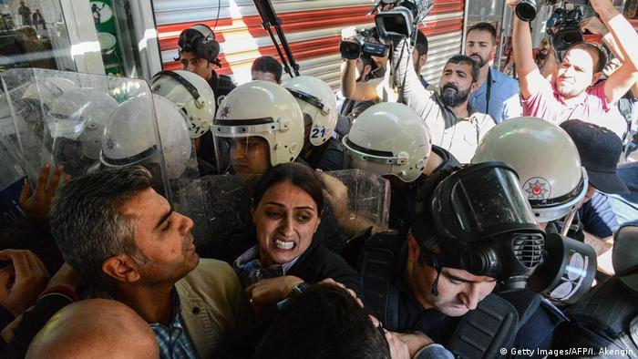 Türkei Feleknas Uca HDP Politikerin (Getty Images/AFP/I. Akengin)