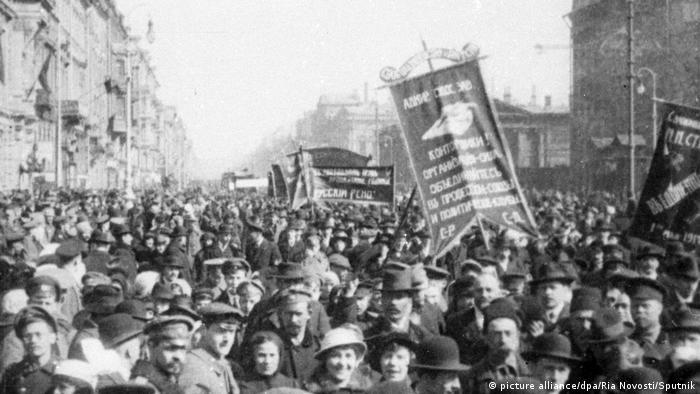 Februarrevolution Petrograd