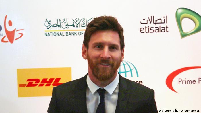 Lionel Messi in Ägypten (picture-alliance/Zumapress)