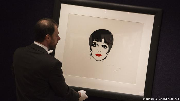 Andy Warhol's Liza Minelli (picture alliance/Photoshot)