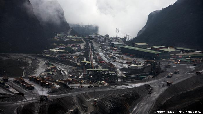 Freeport Mine Indonesien (Getty Images/AFP/O.Rondonuwu)