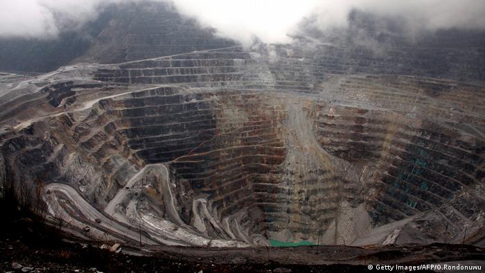 Freeport Mine Indonesien (Getty Images/AFP/O.Rondonuwu)