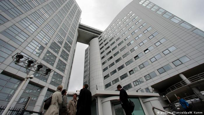 Internationaler Strafgerichtshof in Den Haag (picture-alliance/dpa/W. Kumm)
