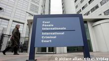 Der internationale Strafgerichtshof Den Haag