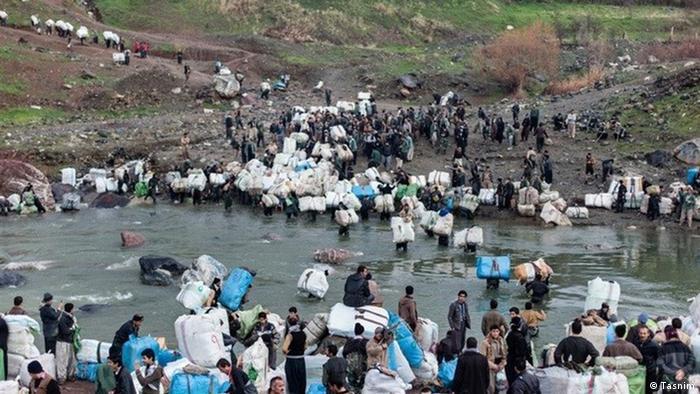 Kulbar – Träger im Irakisch-Iranischen Grenzgebiet