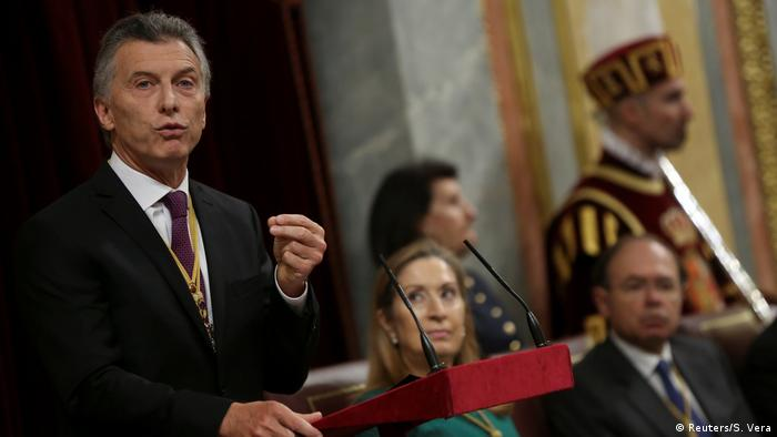 Spanien Madrid Mauricio Macri (Reuters/S. Vera)