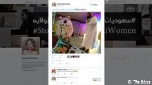 Screenshot Twitter Saudi entertainments activities