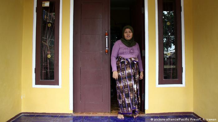 Indonesien Familie der Verdächtigen Siti Aisyah (picture-alliance/Pacific Press/T. A. Irawan)