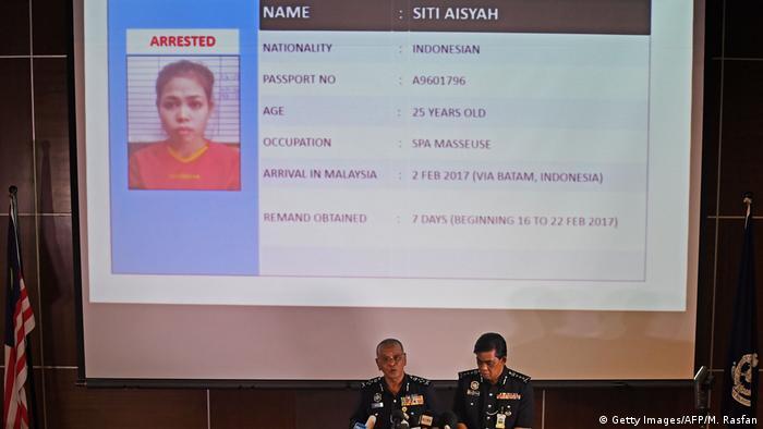 Malaysia Siti Aisyah (Getty Images/AFP/M. Rasfan)