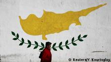 Zypern Wandmalerei in Nicosia