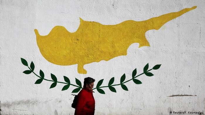 Zypern Wandmalerei in Nicosia (Reuters/Y. Kourtoglou)