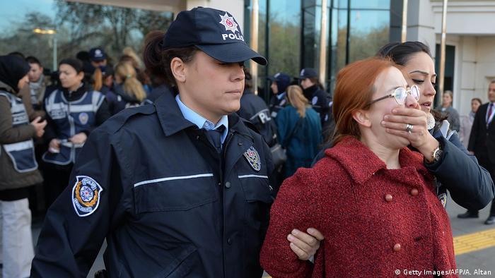 Türkei Frauendemo gegen Gewalt in Ankara
