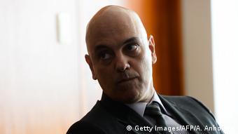 Brasilien ehemaligen brasilianischen Justizminister Alexandre de Moraes