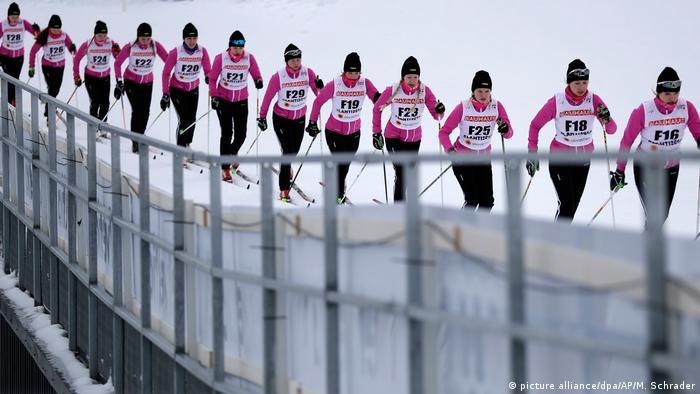 Finnland Nordische Ski-WM Lahti (picture alliance/dpa/AP/M. Schrader)