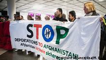 Deutschland Demonstration gegen Abschiebung von Flüchtlingen