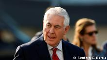 Mexiko US-Außenminister Tillerson Benito Juarez international Airport