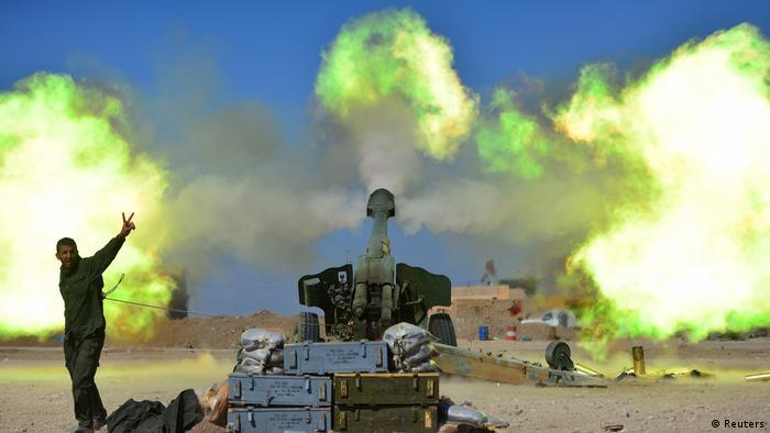 Irak Kampf um West-Mossul (Reuters)