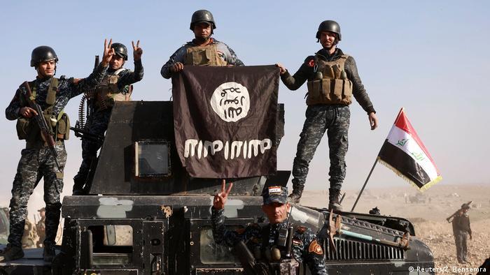 Irak Kampf um Mossul (Reuters/Z. Bensemra)