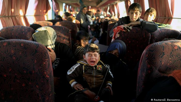 Irak Kampf um Mossul Flüchtlinge (Reuters/Z. Bensemra)