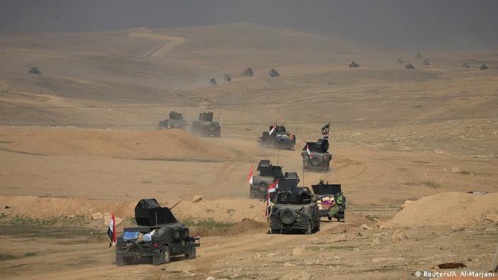Las fuerzas iraquíes arrebataron hoy el control del aeropuerto de la ciudad de Mosul -en el norte de Irak- a los yihadistas del grupo terrorista Estado Islámico (EI) después de varias horas de duros combates. (23.02.2017)