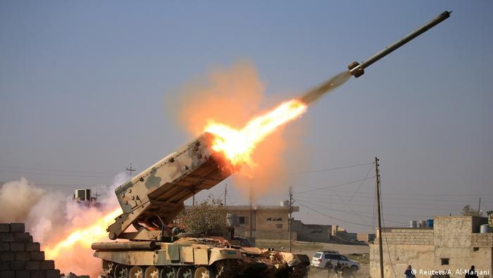 Irak Kampf um Mossul (Reuters/A. Al-Marjani)