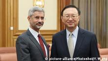 China Peking Subramanyam Jaishankar und Yang Jiechi