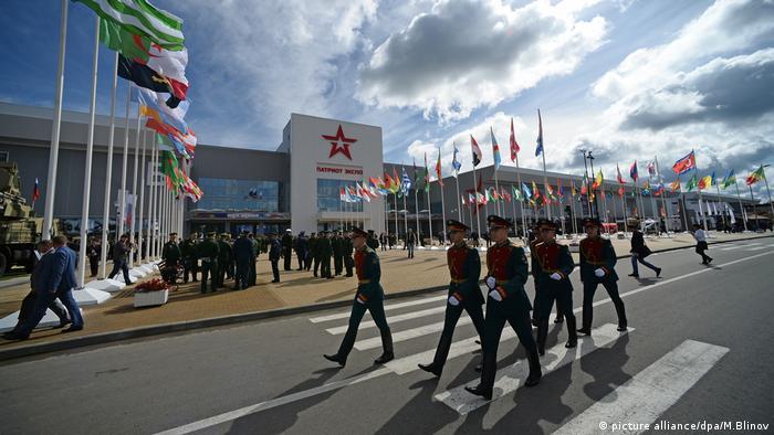 Eröffnung Militär Park Armee Russland Moskau